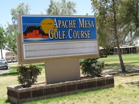 Apache Mesa Golf Course, Holloman Air Force Base, New Mexico, 88330 - Golf Course Photo