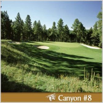 Forest Highlands Golf Club, Canyon Course,Flagstaff, Arizona,  - Golf Course Photo