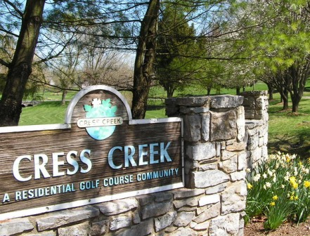 Golf Course Photo, Cress Creek Golf & Country Club, Shepherdstown, 25443
