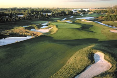 Barefoot Resort, Dye Course,North Myrtle Beach, South Carolina,  - Golf Course Photo