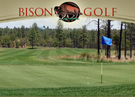Golf Course Photo, Bison Golf Club, Bison Golf Course, Show Low, 85901
