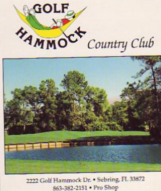 Golf Course Photo, Golf Hammock Country Club, Sebring, 33872