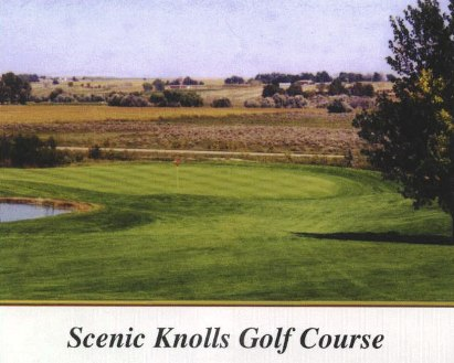 Golf Course Photo, Scenic Knolls Golf Course, Mitchell, 69357