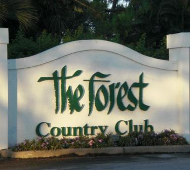 Golf Course Photo, Forest Country Club, The Bobcat Course, Fort Myers, 33908