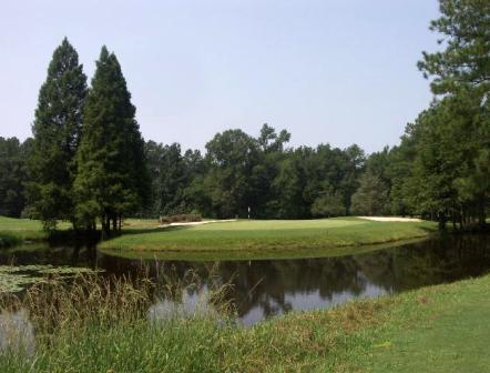 Country Club Of Whispering Pines, West Course,Whispering Pines, North Carolina,  - Golf Course Photo