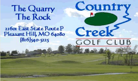 Golf Course Photo, Country Creek Golf Club, Rock Golf Course, Pleasant Hill, 64080