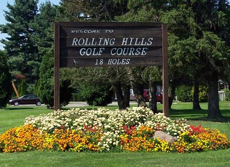 Golf Course Photo, Rolling Hills Golf Course, Pulaski, 16143