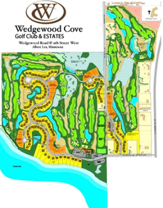 Wedgewood Cove Golf Club,Albert Lea, Minnesota,  - Golf Course Photo