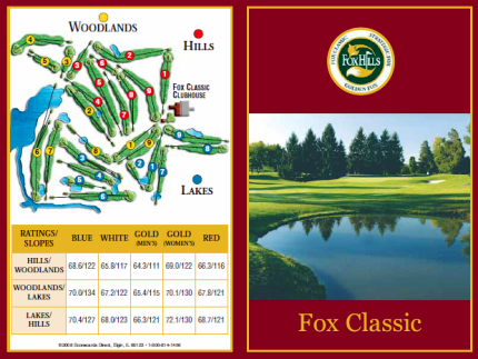 Fox Hills Country Club, Fox Classic,Plymouth, Michigan,  - Golf Course Photo