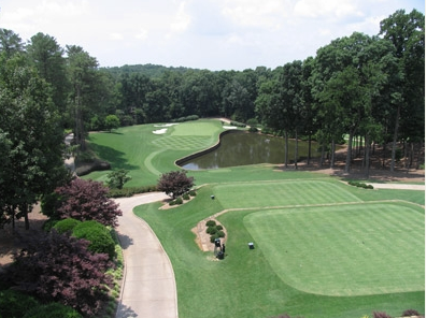 Golf Course Photo, Cherokee Town & Country Club, North Course, Atlanta, 30350