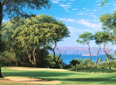 Wailea Golf Club, Blue Course,Kihei, Hawaii,  - Golf Course Photo