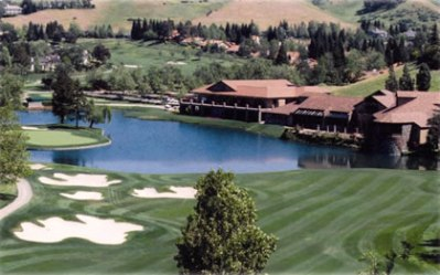 Blackhawk Country Club, Falls,Danville, California,  - Golf Course Photo