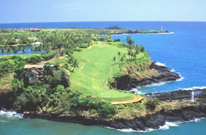 Kiele Course at Kauai Lagoons Resort,Lihue, Hawaii,  - Golf Course Photo