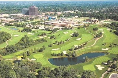 Golf Course Photo, Evergreen Hills, Southfield, 48076