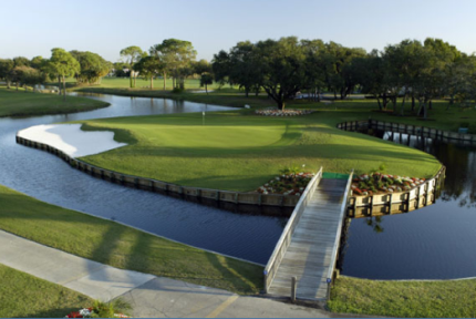 Golf Course Photo, Palm-Aire Country Club -Lakes, Sarasota, 34243