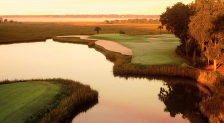 Golf Course Photo, Harbour Town Golf Links, Sea Pines Resort, Hilton Head Island, 29928