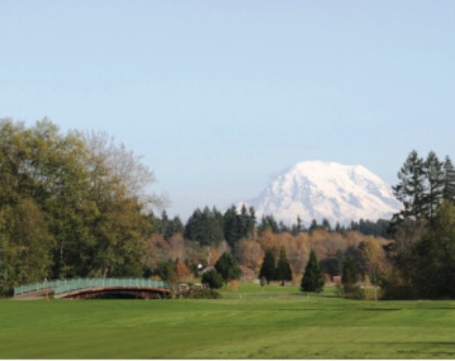 Golf Course Photo, Tumwater Valley Golf Club, Tumwater, 98501