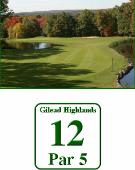 Blackledge Country Club, Gilead Highlands Course,Hebron, Connecticut,  - Golf Course Photo