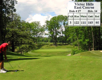 Victor Hills Golf Club -East,Victor, New York,  - Golf Course Photo