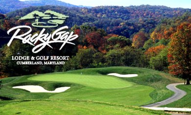 Golf Course Photo, Rocky Gap Lodge & Golf Resort, Flintstone, 21530