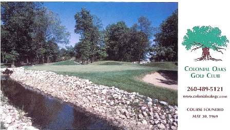 Golf Course Photo, Colonial Oaks Golf Course, Fort Wayne, 46818