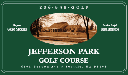Golf Course Photo, Jefferson Park Golf Club -Regulation, Seattle, 98108