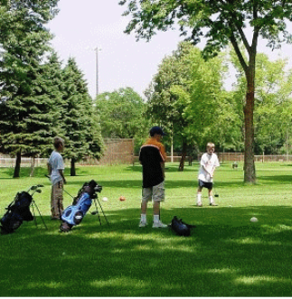 Brookland Executive Nine Golf Course,Brooklyn Park, Minnesota,  - Golf Course Photo