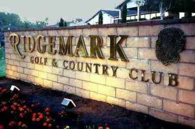 Ridgemark Golf & Country Club, Gabilan Golf Course,Hollister, California,  - Golf Course Photo