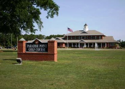 Golf Course Photo, Paradise Point Golf Course -Scarlet, Camp Lejeune, 28547