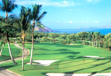 Wailea Golf Club, Gold Course,Kihei, Hawaii,  - Golf Course Photo
