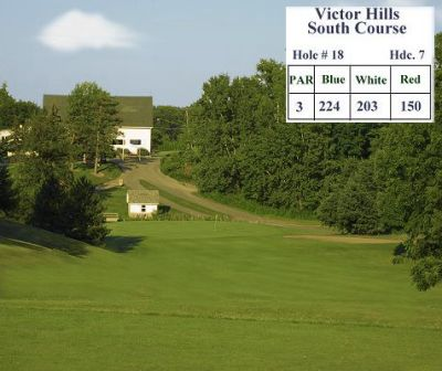 Victor Hills Golf Club -South,Victor, New York,  - Golf Course Photo