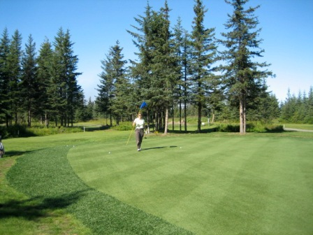Golf Course Photo, Fireweed Meadows Golf Course, Anchor Point, 99556