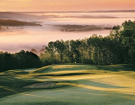 Golf Course Photo, PeekN Peak Resort, Upper Course, Findley Lake, 14736