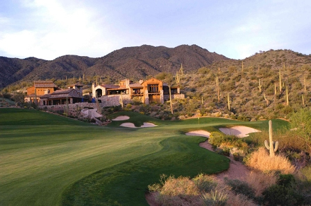 Golf Course Photo, Desert Mountain Golf Club, Outlaw Golf Course, Scottsdale, 85262
