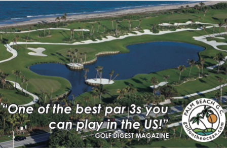 Town of Palm Beach Par 3 Golf Club, Palm Beach, Florida, 33480 - Golf Course Photo