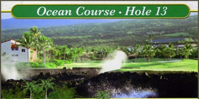 Kona Country Club, Ocean Course, Scheduled to reopen Dec 2015,Keauhou, Hawaii,  - Golf Course Photo