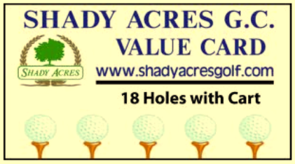 Shady Acres Golf Course,Mccomb, Ohio,  - Golf Course Photo