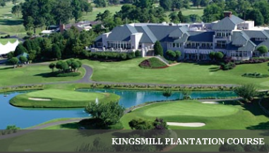 Kingsmill Golf Club & Resort, Plantation Golf Course,Williamsburg, Virginia,  - Golf Course Photo