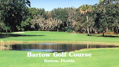 Bartow Golf Course,Bartow, Florida,  - Golf Course Photo