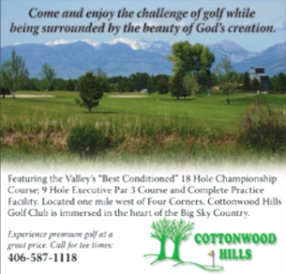 Cottonwood Hills Golf Course -Executive, Bozeman, Montana, 59718 - Golf Course Photo