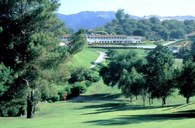 Braemar Country Club, East Course,Tarzana, California,  - Golf Course Photo