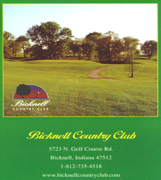 Bicknell Country Club, Bicknell, Indiana, 47512 - Golf Course Photo