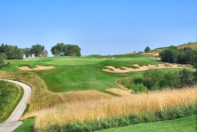 Golf Course Photo, Colbert Hills At Kansas State University, Colbert Hills Golf Course, Manhattan, 66503