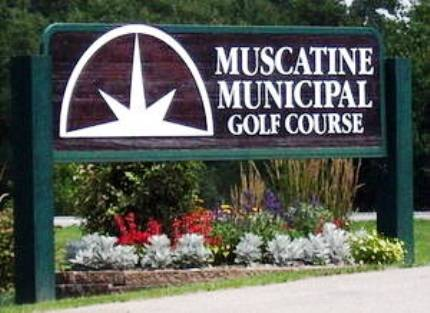 Muscatine Municipal Golf Course,Muscatine, Iowa,  - Golf Course Photo