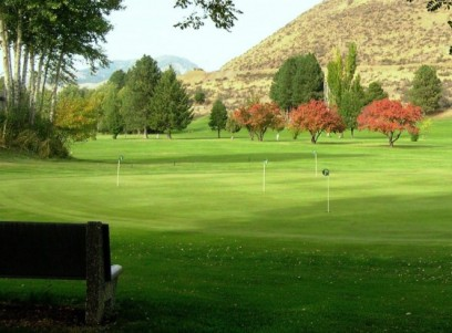Bear Creek Golf Course,Winthrop, Washington,  - Golf Course Photo