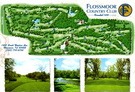 Golf Course Photo, Flossmoor Country Club, Flossmoor, 60422