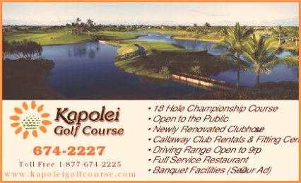 Kapolei Golf Course,Puu Kapolei, Hawaii,  - Golf Course Photo
