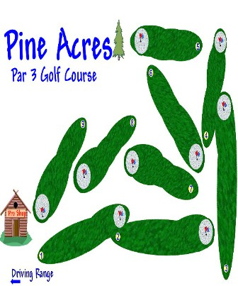 Pine Acres Par 3 Golf Course & Driving Range,Spokane, Washington,  - Golf Course Photo