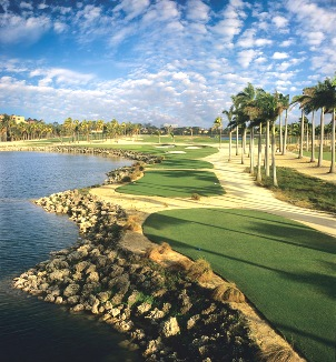Golf Course Photo, Trump National Doral, Great White, Closed 2016, Miami, 33178