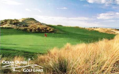 Golf Course Photo, Ocean Dunes Golf Links, Florence, 97439